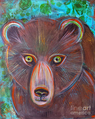 Painting - Spirit Bear by Misty Frederick-Ritz