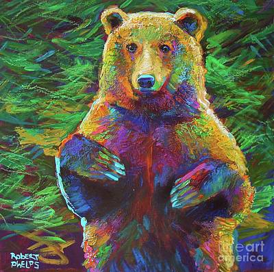 Painting - Spirit Bear by Robert Phelps