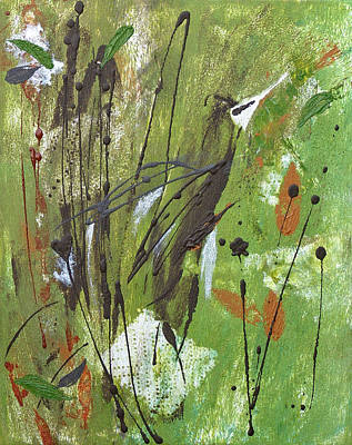Painting - Spirit Bird by Catherine Jeltes