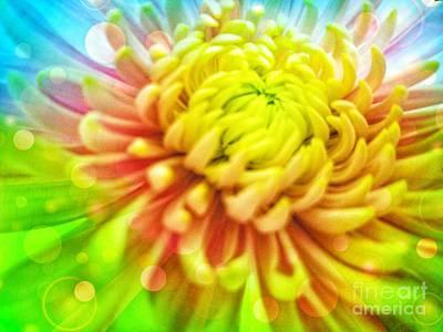 Digital Art - Spirit Blossom by Rachel Hannah