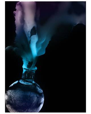 Photograph - Spirit Bottle by Katherine Huck Fernie Howard