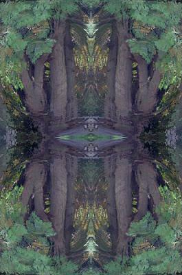 Digital Art - Spirit Bound Tree by Cheryl Charette