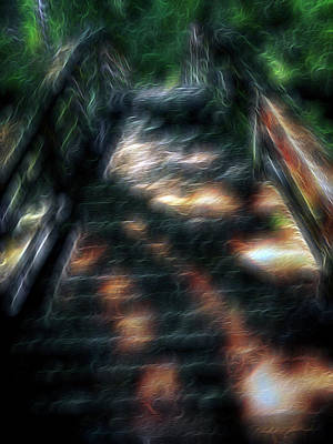Digital Art - Spirit Bridge by William Horden