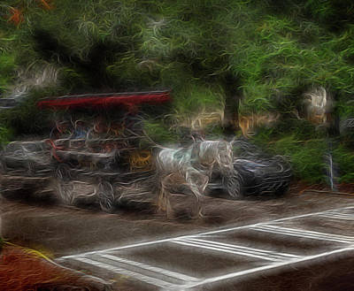 Digital Art - Spirit Carriage 1 by William Horden