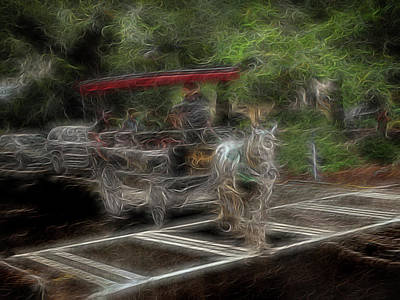 Digital Art - Spirit Carriage 2 by William Horden