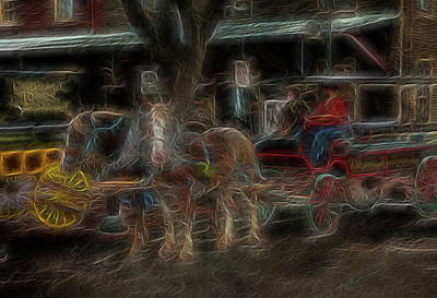 Spirit Carriage 3 Art Print by William Horden
