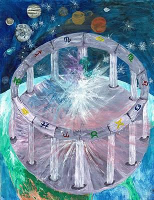 Virgo Painting - Spirit by Christa Chandler
