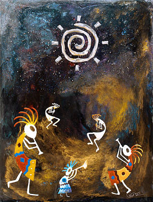 Spirit Dance Art Print by Paul Tokarski