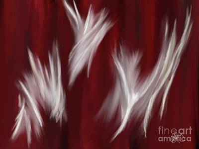 Painting - Spirit Dance by Roxy Riou