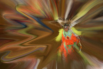 Photograph - Spirit Dance by Wayne King