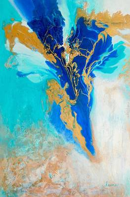 Painting - Spirit Dancer by Irene Hurdle