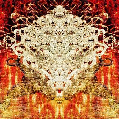 Painting - Spirit Essence  by Rachel Hannah