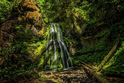 Photograph - Spirit Falls by Belinda Greb