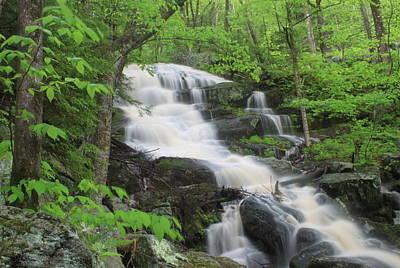 Photograph - Spirit Falls Royalston Massachusetts by John Burk