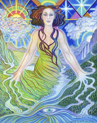 Spirit Guide Reyanne Art Print