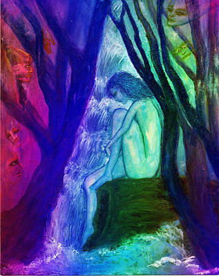 Spirit Guides II Art Print by Patricia Motley