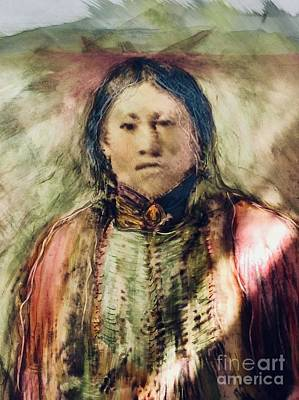 Painting - Spirit Healer by FeatherStone Studio Julie A Miller