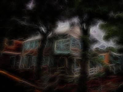 Digital Art - Spirit House by William Horden