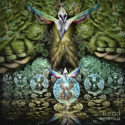 Digital Art - Spirit In The Woods by Vincent Autenrieb