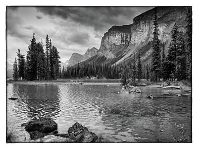 Photograph - Spirit Island Bw by David Beebe