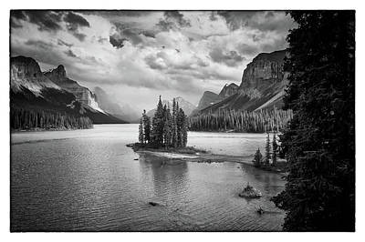 Photograph - Spirit Island II Bw by David Beebe