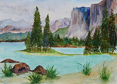 Painting - Spirit Island by Patricia Beebe