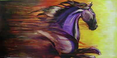 Spirit Art Print by Jerry Frech
