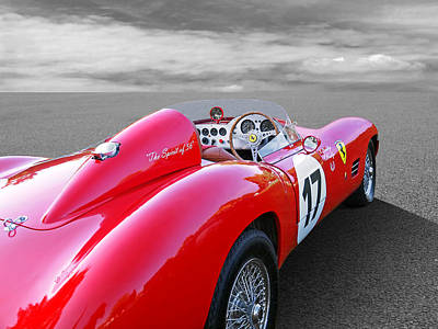 Photograph - Spirit Of 56 Ferrari by Gill Billington