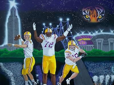 Spirit Of Baton Rouge Art Print