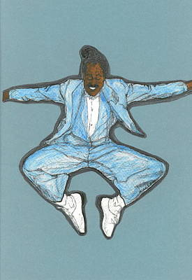 Mixed Media - Spirit Of Cab Calloway by Michelle Gilmore