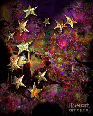 Digital Art - Spirit Of Christmas by Edmund Nagele