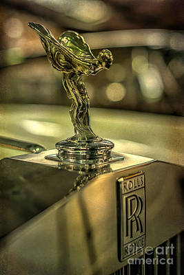 Victorian Digital Art - Spirit Of Ecstasy by Adrian Evans