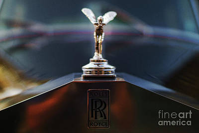 Photograph - Spirit Of Ecstasy Cadiz Spain by Pablo Avanzini