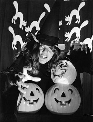 Spirit Of Halloween Art Print by Underwood Archives