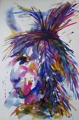 Painting - Spirit Of Horsefeather by Kim Shuckhart Gunns