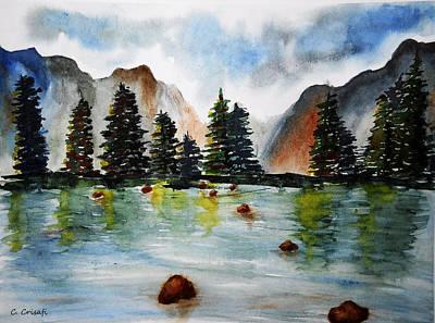 Painting - Spirit Of Lark Rise by Carol Crisafi