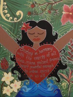 Painting - Spirit Of Mana by Angela Yarber