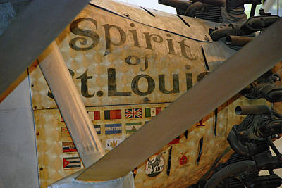 Photograph - Spirit Of St. Louis by John Schneider