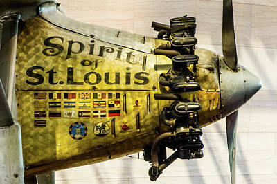 Photograph - Spirit Of St Louis by SR Green