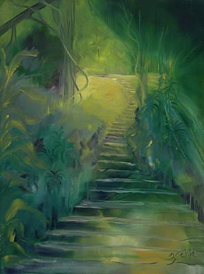 Spirit Of The Amazon Art Print by Zoe Landria