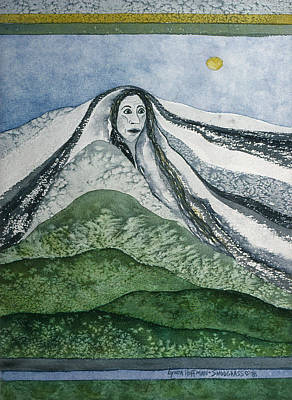 Painting - Spirit Of The Mountain by Lynda Hoffman-Snodgrass