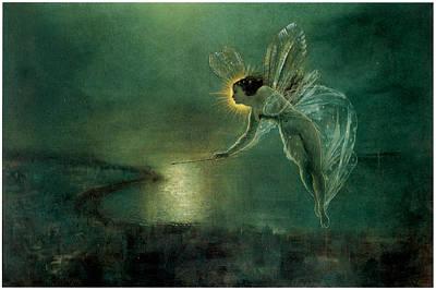 Grimshaw Painting - Spirit Of The Night by John Atkinson Grimshaw