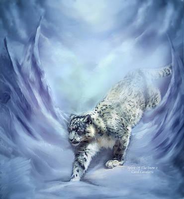 Spirit Of The Snow 2 Art Print