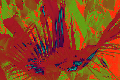 Surrealism Royalty-Free and Rights-Managed Images - Spirit Palms 5 by Gary Bartoloni
