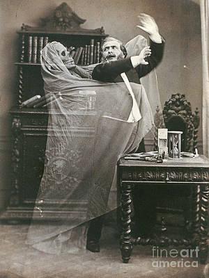 Optical Illusion Photograph - Spirit Photograph, 1863 by Granger