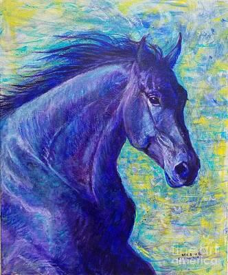 Wall Art - Painting - Spirit Runner by Debra Link