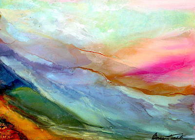 Wall Art - Painting - Rainbow Valley by Alexis Bonavitacola