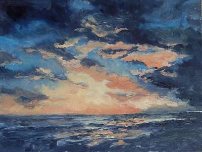 Painting - Spirit Sky By The Sea by Marlene Kingman