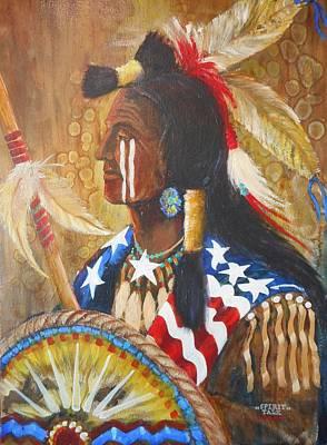 Lynn Burton Wall Art - Painting - Spirit Talk by Lynn Burton