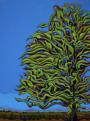 Painting - Spirit Tree Dawning by Amy Ferrari